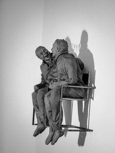 https://flic.kr/p/nCnd65   Conversando...talking...    from Serralves by Juan Muñoz.