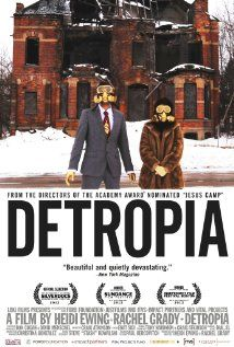 """Detropia From Vulture: """"Heidi Ewing and Rachel Grady's latest documentary is a haunting, impressionistic portrait of a crumbling, increasingly depopulated major American city, suffused with death but maybe—maybe—on the brink of resurrection."""""""