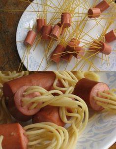 Crazy spaghetti!