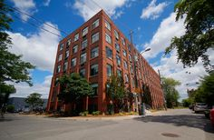 Sale of the Week Toronto Lofts, Centre Island, Exposed Brick Walls, Open Concept Kitchen, Wood Ceilings, Bedroom Loft, Large Windows, Beams, Real Estate