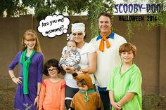 Scooby-Doo Halloween #familyhalloweencostumes
