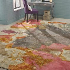 You'll love the Virgil Pink Area Rug at Wayfair - Great Deals on all Décor products with Free Shipping on most stuff, even the big stuff.