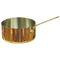 Eurodib 6445.20 3.7 Qt De Buyer Copper Sauce Pan by Eurodib. $160.00. A well-built pan is an essential tool to have in a kitchen when preparing any type of dish. This 3. 7 Qt De Buyer Copper Sauce Pan (6445. 20) is a solid tool that has been crafted from extra thick copper with a stainless steel interior to last you well down the road. Equipped with a bronze handle, this pan is simple and safe to use in the kitchen.