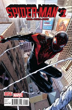 Miles Morales in the Marvel Universe--SPIDER-MAN #1 First Look - Comic Vine