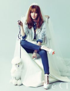 Secret\'s Han Sun Hwa CeCi April Issue