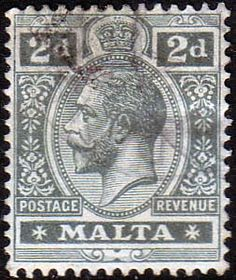 Malta 1914 King George V SG 75 Fine Used Scott 52 Other European and British Commonwealth Stamps HERE!