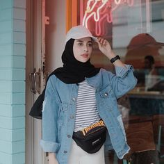 31 Rustic Womens Strip Outfits Ideas For Any Occasion 31 Rustic Womens Strip Ou. 31 Rustic Womens Strip Outfits Ideas For Any Occasion 31 Rustic Womens Strip Outfits Ideas For Any Casual Hijab Outfit, Hijab Chic, Denim Outfit, Casual Outfits, Modern Hijab Fashion, Hijab Fashion Inspiration, Denim Fashion, Women's Fashion, Hijab Fashionista