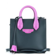 Balenciaga - Handtasche Padlock Mini All Afternoon aus Leder und Schlangenleder - mytheresa.com