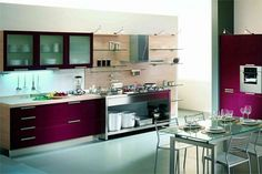 65 Ideas Of Using Open Kitchen Wall Shelves Nice Design