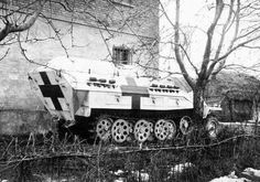 """""""Sd.Kfz. 251/8 I"""" - Krankenpanzerwagen - Wehrmacht Armored Ambulance - Crew: 3 (Driver, and 2 Medic-Gunners) Capable of Carrying up to 8 Seated Casualties or 4 Seated and 2 Stretcher Case Casualties - Armament: 2 x 7.92mm MG34/42 Machine Guns (2400 Rounds/Gun)"""