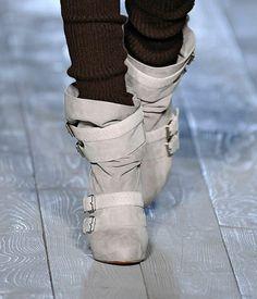 Christian Louboutin - Victoria Beckham Fall 2012 boots