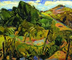 Landscape (Alfred Henry Maurer - circa 1915-1919)