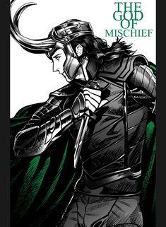 God of mischief || Loki || Cr: Demon