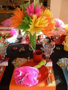 Centerpiece idea #fiesta