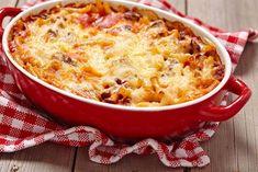 Mljeveno meso s bundevom i tjesteninom Ww Recipes, Pasta Recipes, Pasta Facil, Baked Ziti, Macaroni And Cheese, Casserole, Good Food, Favorite Recipes, Beef
