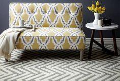 Streamlined Design--Lovely chair or mini loveseat