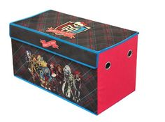 The Mattel Monster High Collapsible Storage Trunk makes a perfect addition to your child's bedroom, closet, or playroom. The storage trunk is an easy way to mai Game Storage, Storage Trunk, Kids Storage, Storage Racks, Storage Ideas, Monster High School, Monster High Dolls, Sports Games For Kids, Mini Monster