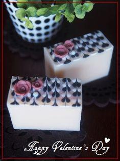 New Heart Soap ~バレンタインの日に |横浜・元町中華街駅 手作り石けん教室 With Flowers