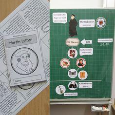 Martin Luther (Klitzekleinheft) Aus gegebenem Anlass gibt es heute ein Faltheft zu Martin Luther. Vielleicht kann es der oder andere von...