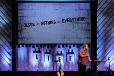 @Ginghamsburg Church stage design for 4 Letter words redesigningworship.com