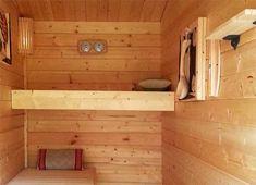 Praktisch: Gartenhaus und Sauna unter einem Dach