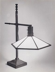 midway gardens | Frank Lloyd Wright | Table Lamp designed by FLW