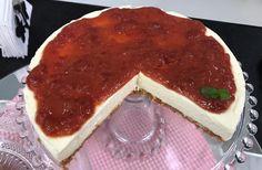 Cheesecake Romeu e Julieta (Goiabada com Queijo) | Tortas e bolos > Cheesecake | Mais Você - Receitas Gshow