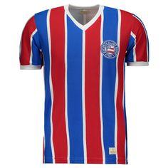 Camisa Retrômania Bahia 1988 Listrada Somente na FutFanatics você compra  agora Camisa Retrômania Bahia 1988 Listrada aba80e8cc4cc8