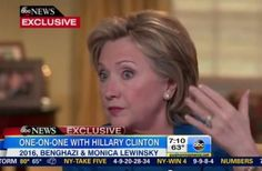 """Hillary Clinton says that """"Benghazi"""" is not a reason she would not run for president, but is """"more"""" of a reason she would run for president in 2016."""