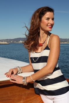 Stay classy and cool in bold stripes | Silpada Blog #WomensFashion