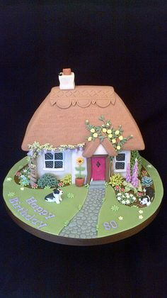 Thatched Cottage Cake | Flickr - Photo Sharing!