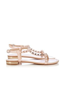 Pink Stone Detail Sandal #WallisFashion