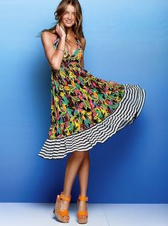 Mesh Halter Dress - Victoria's Secret