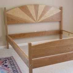 Cherry Bed - King Size custom made by Fine Wood Crafting