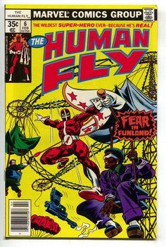 Human Fly 6 Marvel 1978 VF NM Ferris Wheel