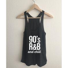 Just in: 90s RnB and chill Women's Racerback Tank Top You will love it! [www.thefuturedream.eu]    #FutureDream