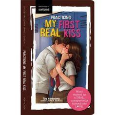 Practicing My First Real Kiss (My First Real Kiss, Kiss Books, My Books, Best Wattpad Stories, Wattpad Books, Popular Girl, Book Summaries, Book Signing, High School Students, Fiction Books