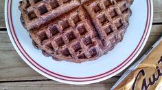 Gluten-Free Chocolate Banana Waffles