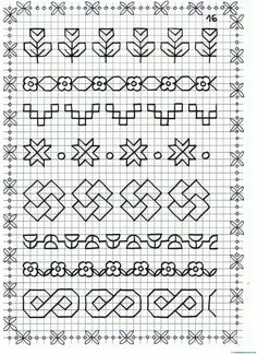 Timestamps DIY night light DIY colorful garland Cool epoxy resin projects Creative and easy crafts Plastic straw reusing ------. Blackwork Cross Stitch, Blackwork Embroidery, Cross Stitching, Cross Stitch Embroidery, Embroidery Patterns, Cross Stitch Patterns, Graph Paper Drawings, Graph Paper Art, Easy Drawings