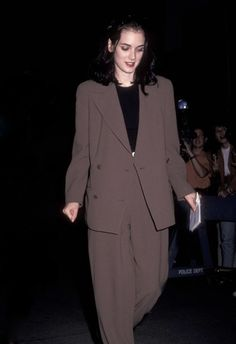 -Winona Ryder- in suit