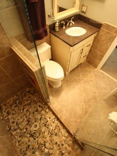 Rancher Remodel Before And After Bathroom Shower Remodeling Before - Charlotte bathroom remodel