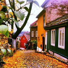 Damstredet Oslo Norway // let the scandinavian getaway planning begin....