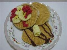 crochet pancakes
