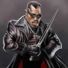 Awesome Celebrity Blade Caricatures Pictures