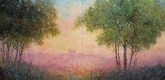 "Saatchi Online Artist john dimech; Painting, ""Impression-Sunrise over the old city"" #art"
