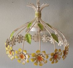 Vintage Daisy Light