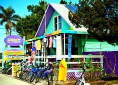 Beach Bums! Island's best rentals for kayaks,golf carts, bikes, paddleboards etc.!