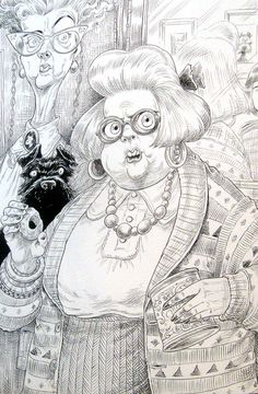 Chris Riddell - The Illustration Cupboard