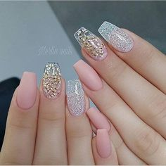newest coffin nails designs short coffin nails; Sassy Nails, Trendy Nails, Fun Nails, Coffin Nails Matte, Stiletto Nails, Acrylic Nails, Pretty Nail Designs, Nail Art Designs, Nails Design