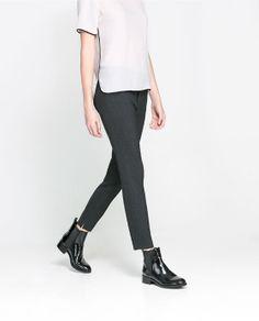 Image 3 of SKINNY PANTS from Zara